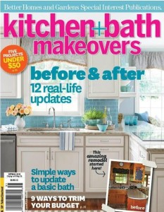 Bathroom Makeover Magazine millennium featured in kitchen and bath makeover magazine
